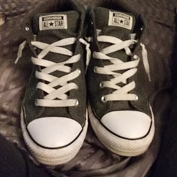 6512fa7cc03 Converse Other - Chuck Taylor All Star Street Mid Top Knit